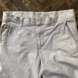 American apparel striped cotton pants. SZ 34